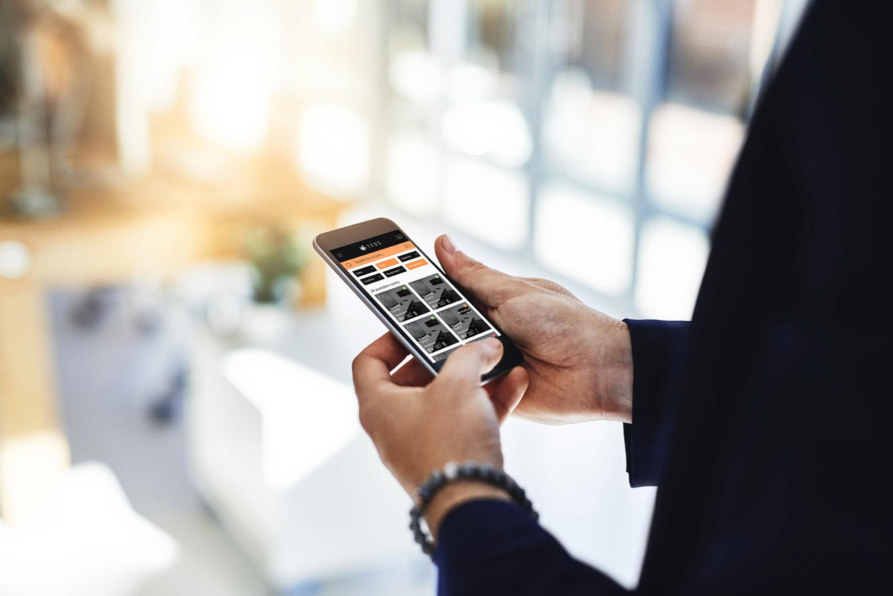 Sony Teos sony Sony ogłasza nową wersję TEOS Manage TEOS Mobile room booking