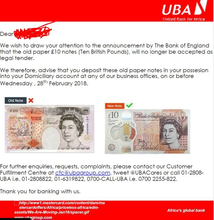 New £10 Note Security Features, What Happens After The Deadline? - Brand Spur