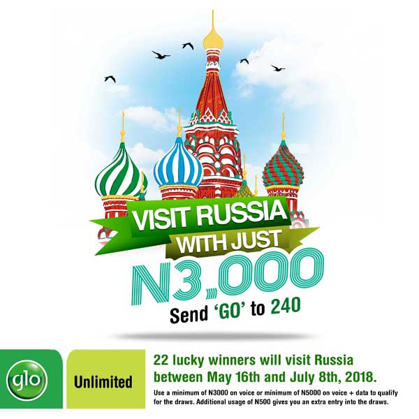 Glo Excites Subscribers with Go Russia Offer - Brand Spur