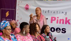 POLARIS BANK PINK HEROES BRANDSPURNG Care Organization Public Enlightenment C.O.P E2