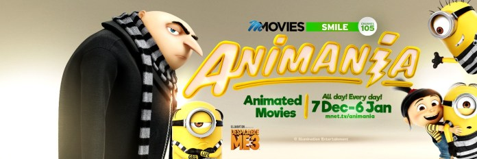 It's Animania time with M-Net Movies Smile This December - Brand Spur