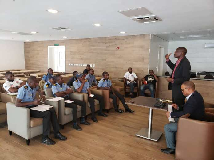 Lagos Traffic Radio trains water guards on live reporting (Pictures) - Brand Spur