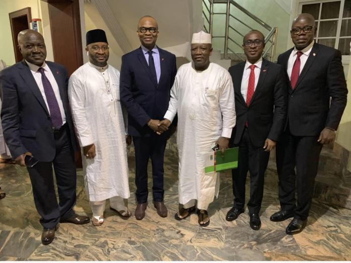 UBA pays courtesy visit to Executive Governor and Governor Elect of Zamfara State (Picture) - Brand Spur