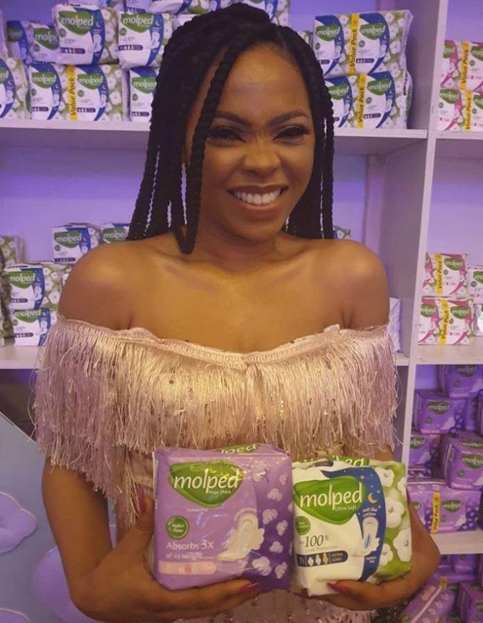 Hayat Kimya introduces Molped Pads and its first ever Nigerian brand ambassador (Photos) - Brand Spur
