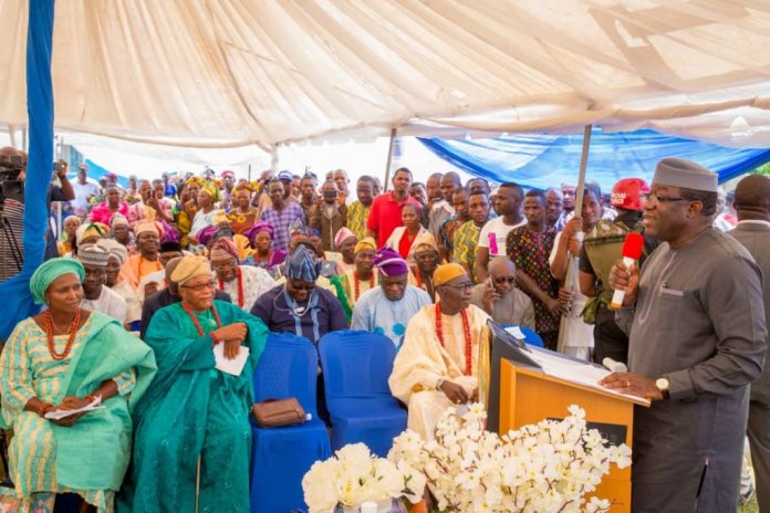Gossy Water Returns As Fayemi Commissions Production Plant (Photos) - Brand Spur