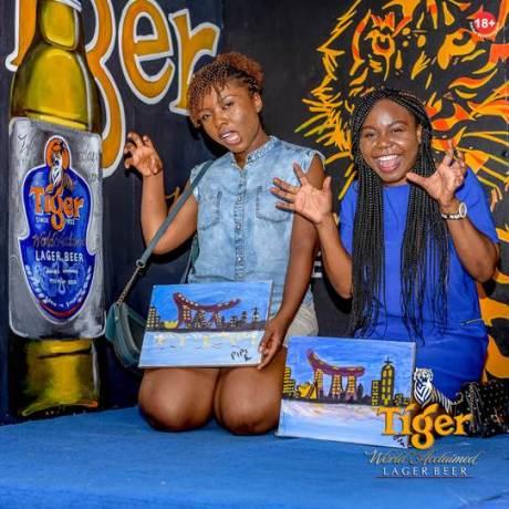Tiger Beer Nigeriasocial painting brandspur nigeria