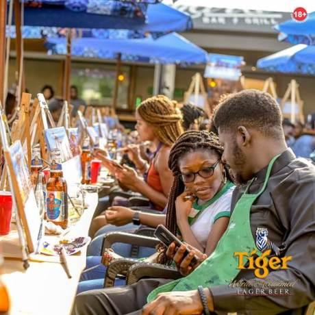 Tiger Beer Nigeriasocial painting brandspur nigeria5