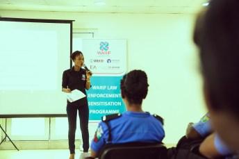 WARIF trains Police Officers in its Law Enforcement Case Management Sensitisation Program gender based violence brandspur nigeria 5