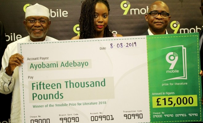Nigerian Writer, Ayobami Adeboyo Becomes 2018 9mobile Prize for Literature Winner - Brand Spur