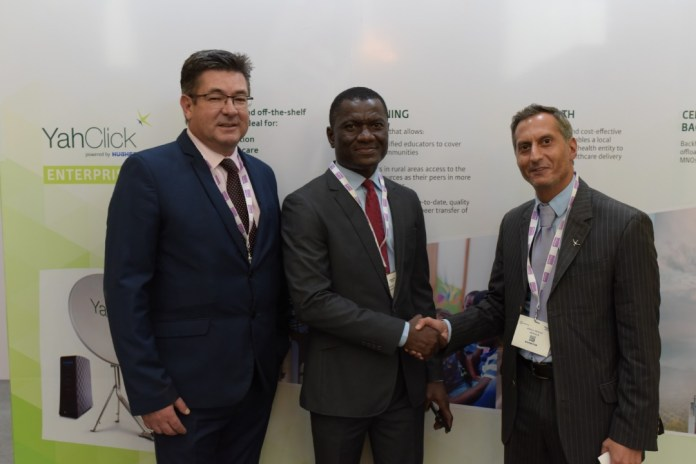 YahClick and iSAT announce partnership agreement at NigeriaCom - Brand Spur