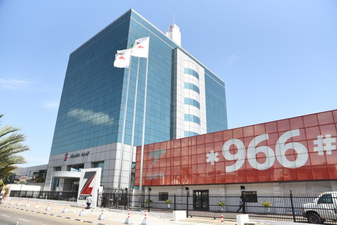 Zenith Bank reports 16.8% rise in Profit After Tax to N103.8Billion in Q2...