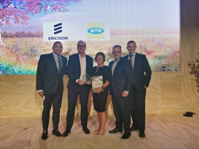 Ericsson And MTN Win 'Delivering Excellence In Customer Experience Award' At AfricaCom 2019 - Brand Spur
