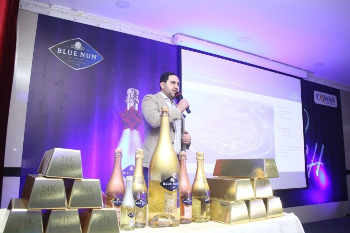 Blue Nun: The 24k Gold Champagne launches in Nigeria - Brand Spur