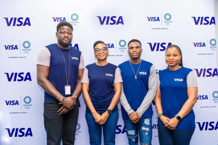 Team Visa Welcomes Nigerian Track and Field Sprinter Divine Oduduru to their Tokyo 2020 cohort - Brand Spur