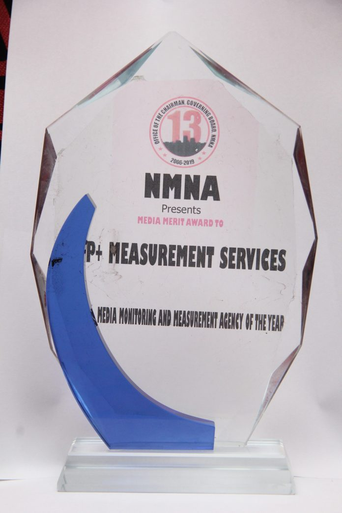 Nigerian Media Monitoring And Measurement Agency Bags NMNA Award - Brand Spur