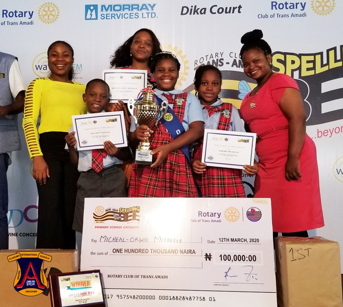 Aladumo School Wins Spelling Bee for the 5th Time (Photos) - Brand Spur