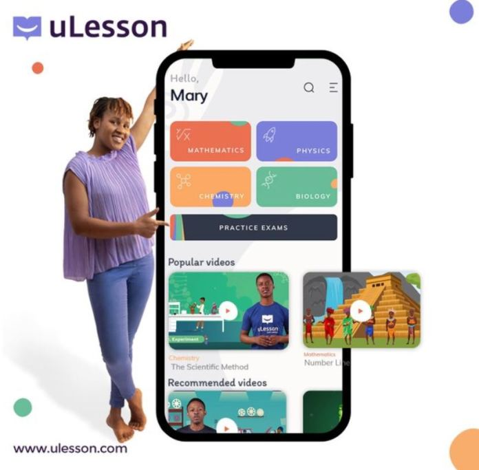 uLesson Learning app Launches, commits to helping African students be the very best they can be brandspurng2