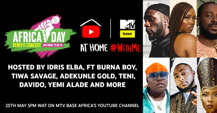 Sho Majozi, Sauti Sol, Davido, Burna Boy, Salif Keita and more added to Africa Day Benefit Concert At Home lineup - Brand Spur