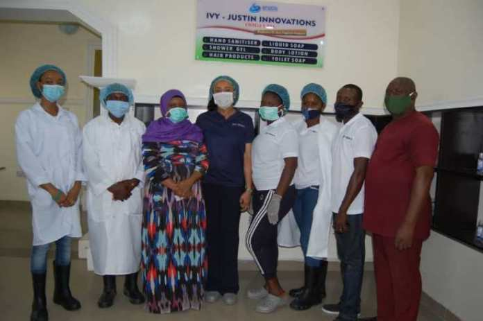 SON Provides Technical Support For Hand Sanitizer Manufacturer In Abuja - Brand Spur