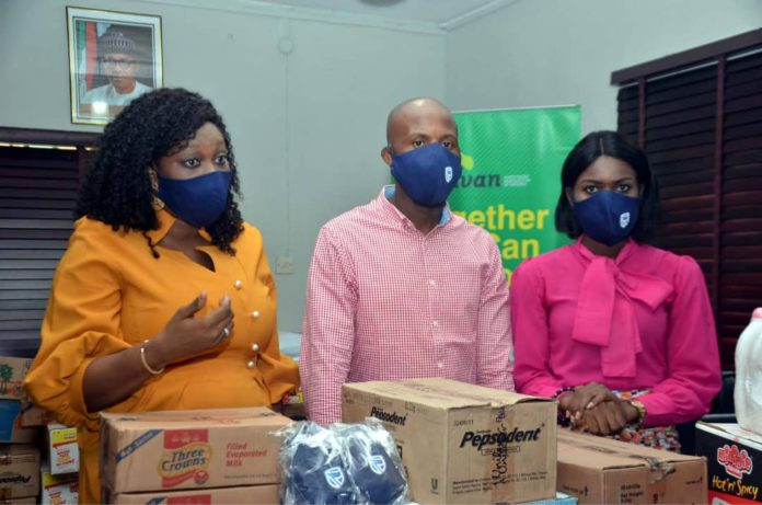 COVID-19: ADVAN Supports NANS, BJAN, Petty Traders With Palliatives (Photos) - Brand Spur