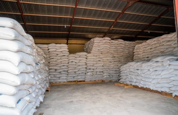 Minister Of Humanitarian Affairs Receives Donation Of 3,999 Tons Of Grain From ECOWAS For Vulnerable Households