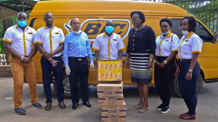 BIC Donates More Than 100,000 Pens in Africa to Help Children and Adults in Need