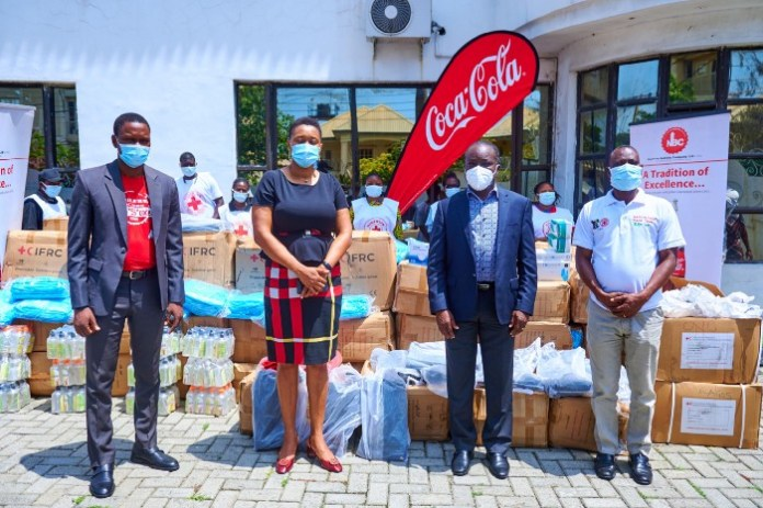 Healthcare Workers To Receive Coca-Cola-Funded PPEs From Nigerian Red Cross (Photos)
