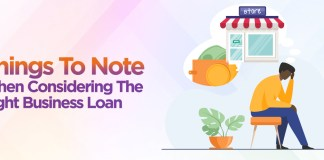 Things to Note when Considering the Right Loan for your Small Business