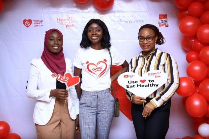 L-R Akinjide Olowookeere; Yoga inst ... ecutive Director Cardiac Community