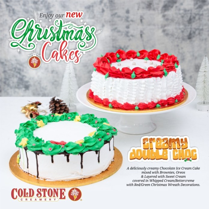 HAVE A CREAMY CHRISTMAS WITH COLD STONE THIS DECEMBER