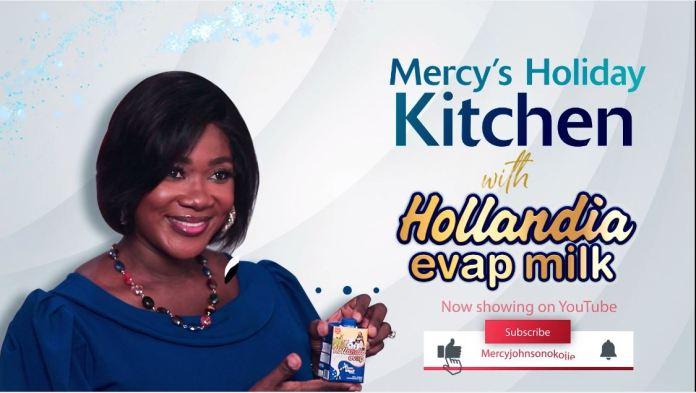 Hollandia Evap Milk & Mercy Johnson-Okojie Unveil Holiday Kitchen