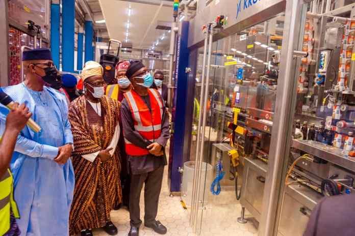 Nigerian Breweries Completes N5.1Bn automated PET line in Ogun State (Photos) Brandspurng