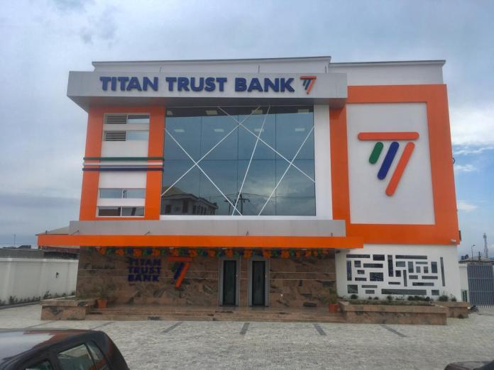 Titan Trust Bank Emerges 'Best Trade Finance Provider' in Nigeria