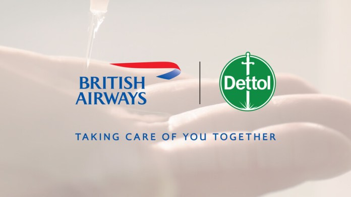 British Airways Partners With Reckitt Benckiser As Part Of Its Ongoing Commitment To Help Keep Customers Safe Brandspurng