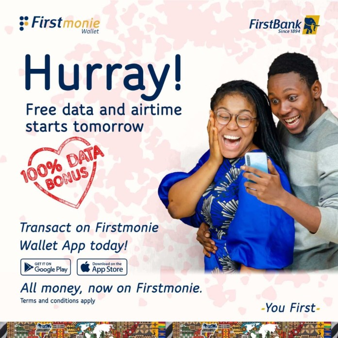 Firstmonie Wallet Launches Valentines Day Promo, Gives Customers Free Data and Airtime brandspurng