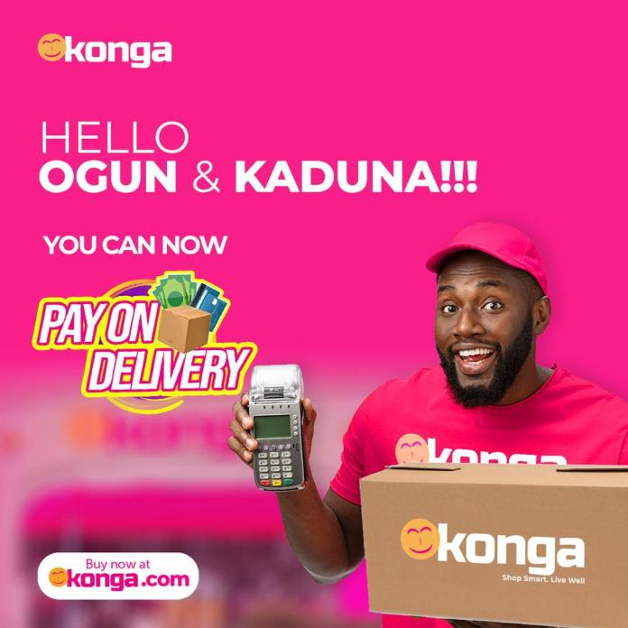 Kaduna and Ogun State excited as Konga launches Pay On delivery brandspurng