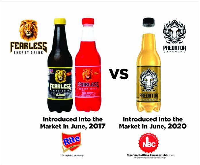 Predator Energy Drink: NBC, Rite Foods Suit Resumes September 22-Brand Spur Nigeria