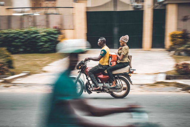"""Motorcycle """"Okada"""" Commuters Paid More in February 2021 - NBS Brandspurng"""