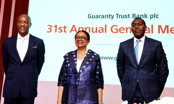 GTBank - 31st AGM Brandspurng GTBank Shareholders Endorse N3.00 Total Dividend for 2020, Applaud Agbaje's Leadership