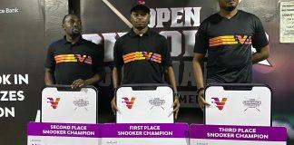 Gideon John, Wale Akinola Win VBank Snooker & Billiards Tournament (Photos)