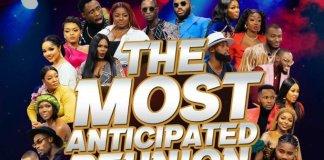 Big Brother Naija Lockdown Reunion Show Starts June 17-Brand Spur Nigeria