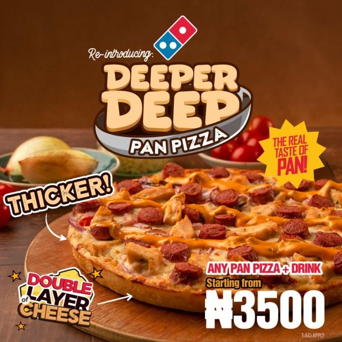 DEEPER DEEP PAN PIZZA