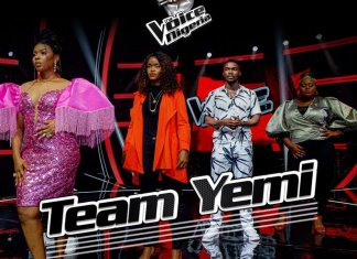 Yemi Alade's Team Dazzles On Airtel TV As The Voice Nigeria Enters Knockout Stages -Brand Spur Nigeria