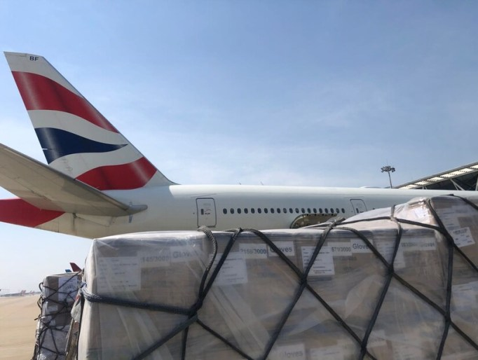 British Airways Airlifts 27 Tonnes Of Urgent Medical Aid For India On Special Emergency Flight-Brand Spur Nigeria