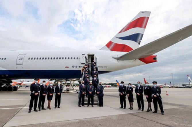 British And Irish Lions Roar Off To South Africa With British Airways-Brand Spur Nigeria