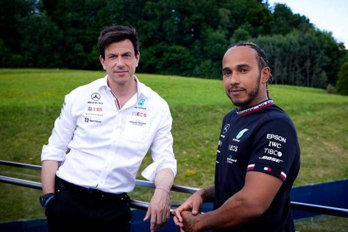 Mercedes And Lewis Agree Two-Year Contract Extension-Brand Spur Nigeria