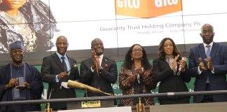 Guaranty Trust HoldCo Plc Commemorates Listing on Nigerian Exchange