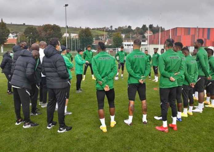 20 Players Arrive Super Eagles Camp Ahead Of World Cup-Brand Spur Nigeria