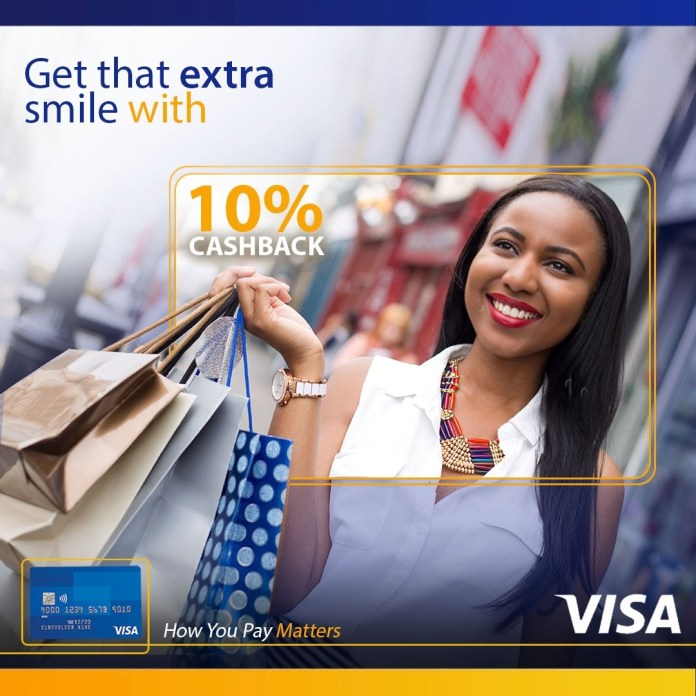 Get Cash Back When You Pay With Visa-Brand Spur Nigeria