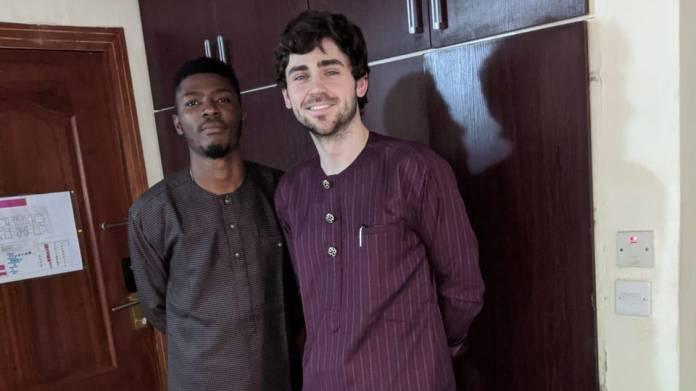 Chris Maurice and Munachi Ogueke.